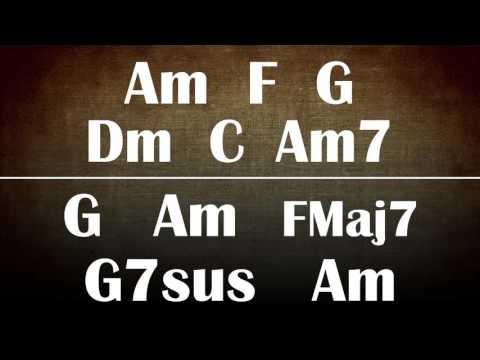 Funk Backing track - ONE HOUR! Key of Am (A Minor) - Funk/Bop/Rock/Jazz