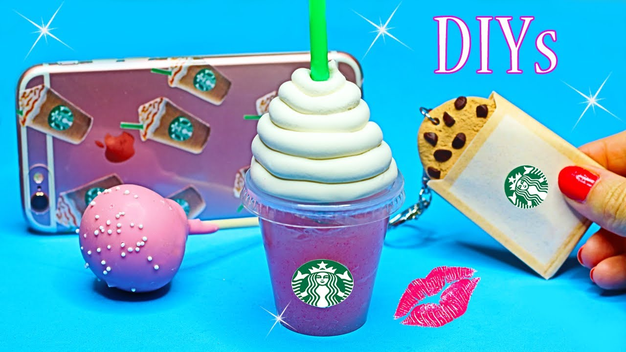 5 DIY Starbucks Projects {Easy