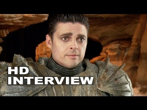 "Riddick: Karl Urban ""Vaako"" On Set Interview"