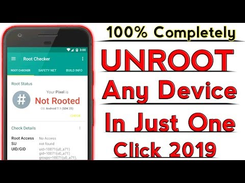 How To Un-ROOT Any Android Device In Just One Click 2020 [ 100% Working With Proof ]