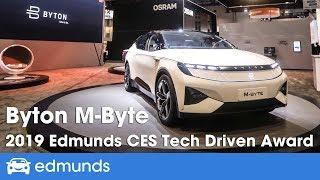 Byton M-Byte | 2019 Edmunds CES Tech Driven Awards