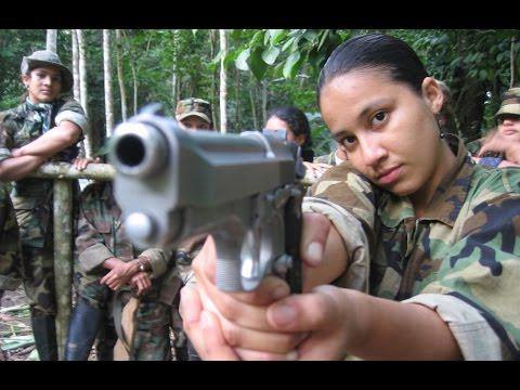 ESPECIAL GUERRILHA - Garotas Guerrilheiras da FARC-EP, Colômbia