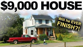 $9,000 HOUSE - FAILING STAIRCASE // MAJOR REPAIR - Ep. 27