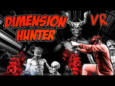 Dimension Hunter VR gameplay - Stylized VR FPS about hunting inter-dimensional monsters