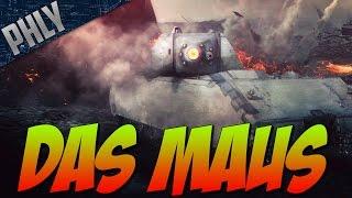 War Thunder MAUS- German SUPER HEAVY TANK - War Thunder Tanks Gameplay