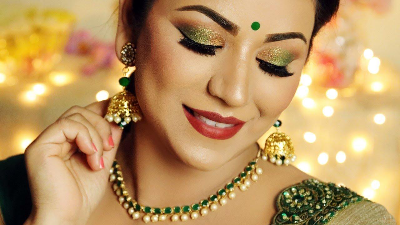 diwali makeup