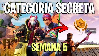 FORTNITE-FREE SECRET CATEGORY OF WEEK 5 OF THE SEASON 5 BATTLE PASS!