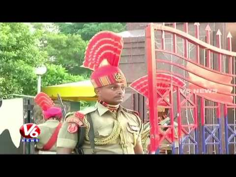 70th Independence Day Celebrations At Wagah Border || V6 New
