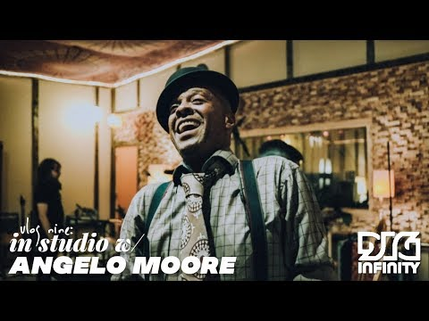 Vlog Nine: In Studio With ANGELO MOORE! (day One)
