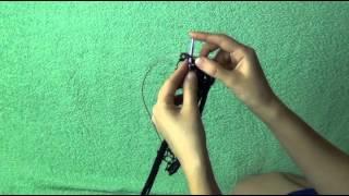 Мастер-класс по вязанию шарфа из ленточной пряжи(Идея для оригинального подарка, сделанного своими руками! Моток ленточной пряжи и 1 час времени - больше..., 2014-12-09T20:40:14.000Z)