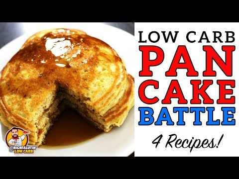 Low Carb PANCAKE BATTLE - The BEST Keto Pancake Recipe! - Co