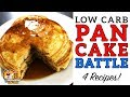 Low Carb PANCAKE BATTLE - The BEST Keto Pancake Recipe! - Coconut, Almond, Cream Cheese & Carbquick!