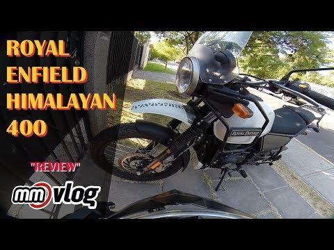 Review Royal Enfield Himalayan / MotoVlogger