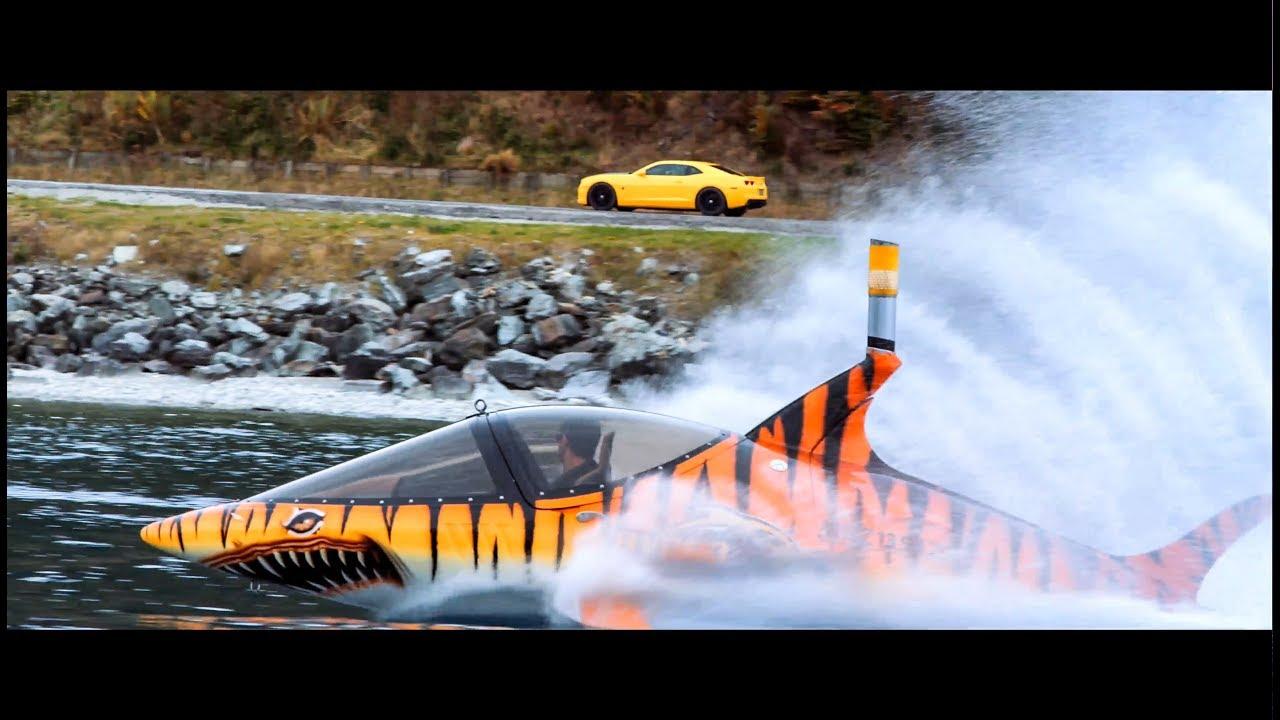 video Hydro Attack Shark Ride