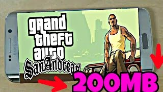 200MB GTA SAN FOR Android 100% REAL 2017