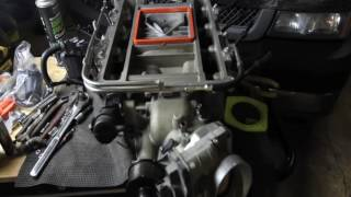 LSA Blower install on 2004 Silverado 2500HD Supercharged By Spartan Autoworx & LSX Precision