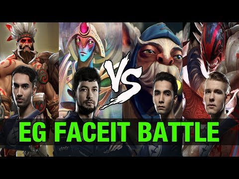 EG BATTLE - UNiVeRsE and Fear VS SumaiL and Cr1t FACEIT MATCH - Dota 2