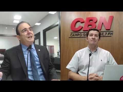 Entrevista CBN Campo Grande: Felipe Orro, Deputado estadual