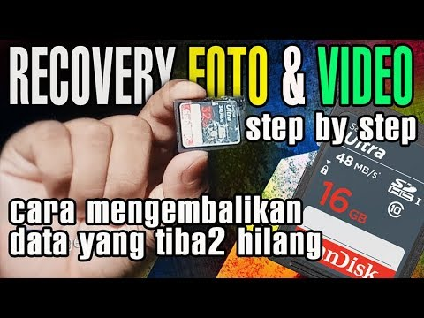 PROSES RECOVERY FOTO & VIDEO YANG HILANG DI MEMORY CARD - RECOVERY ...