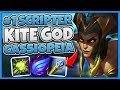 #1 KITE GOD WORLD DESTROYS HIGH ELO WITH CASSIOPEIA (UNREAL KITING) - League of Legends
