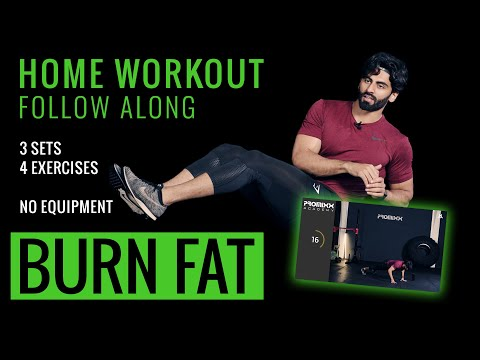 BURN FAT & BUILD MUSCLE HOME WORKOUT | 15 Minutes with TheFitnessSurgeon