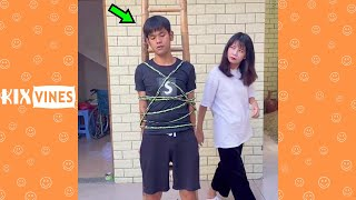 Funny videos 2021 ✦ Funny pranks try not to laugh challenge P275