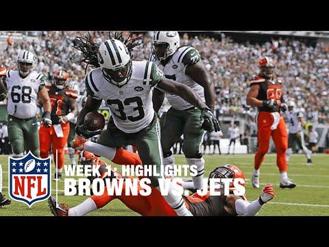 Browns vs. Jets | Week 1 Highlights | NFL