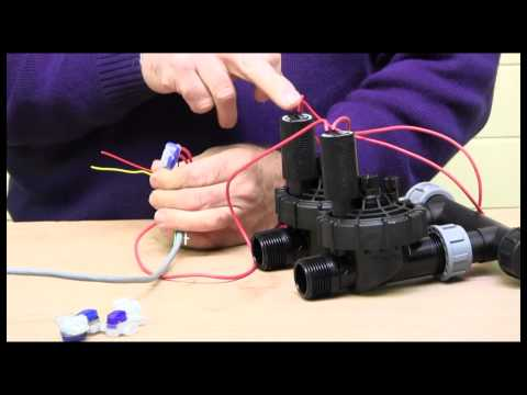 [DIAGRAM_4PO]  Wiring an Irrigation Solenoid Valve - YouTube | Irrigation System Wiring Diagram |  | YouTube