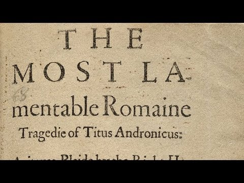 Shakespeare's London and Ancient Rome - Professor Sir Jonathan Bate