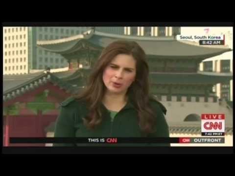 Erin Burnett visits Korean Demilitarized Zone, interviews North Koreans defector (Apriil 10, 2015)