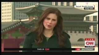 Erin Burnett visits Korean Demilitarized Zone, interviews North Koreans defector (Apriil 10, 2015)
