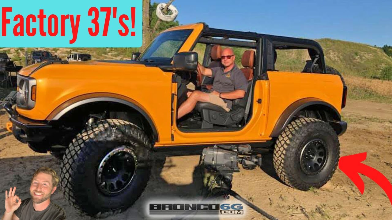 """2021 Ford Bronco (2"""" Lift On 37's) (37 Inch Tire Option, 4 ..."""