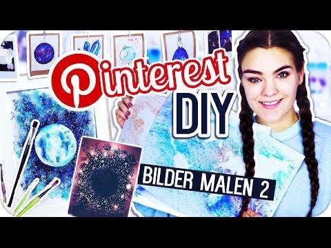 3 PINTEREST DIY's – BILDER MALEN Teil 2 + VERLOSUNG // I'mJette