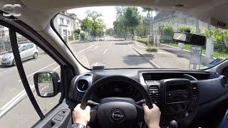 Opel Vivaro B 1.6 CDTI (2014) - POV City Drive