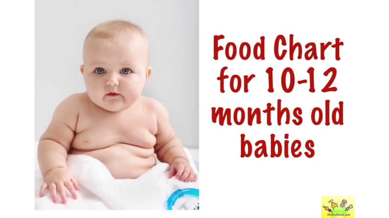Food chart months old babies baby with timing also rh youtube
