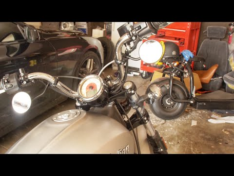 Mr Lucky&39;s Under Bar Mirrors Install  Indian Scout Project  Episode 4