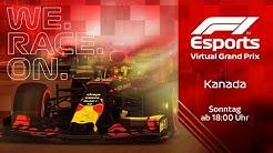 F1 Virtual Grand Prix von Kanada | Mit Schumacher Jr. und Co.