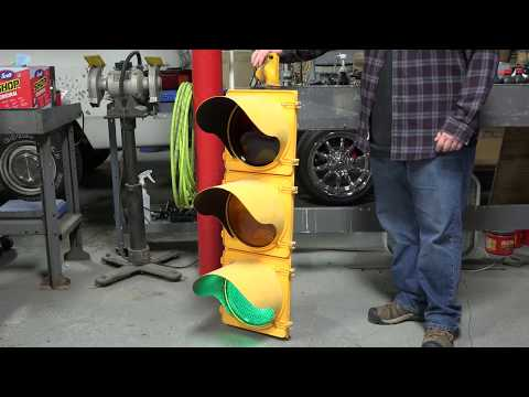 REAL Traffic Light | What's Inside?