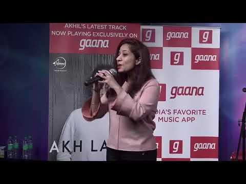 AKHIL Live At Gaana.com KHAAB//Akh Lagdi//supne//life//Zindagi