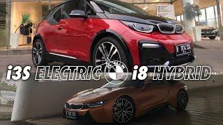 HYBRID SPORTCAR VS ELECTRIC CAR (BMW i8 VS BMW i3S)