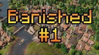 Прохождение на русском Banished #1 [Зарождение нового деревни] MISTER PIRATE