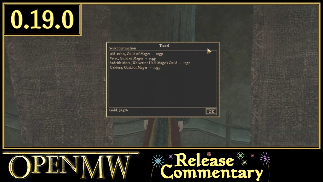 Launcher | OpenMW, Open source Elderscrolls III: Morrowind