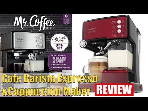 Review Mr. Coffee Cafe Barista Espresso and Cappuccino Maker, Red 2018
