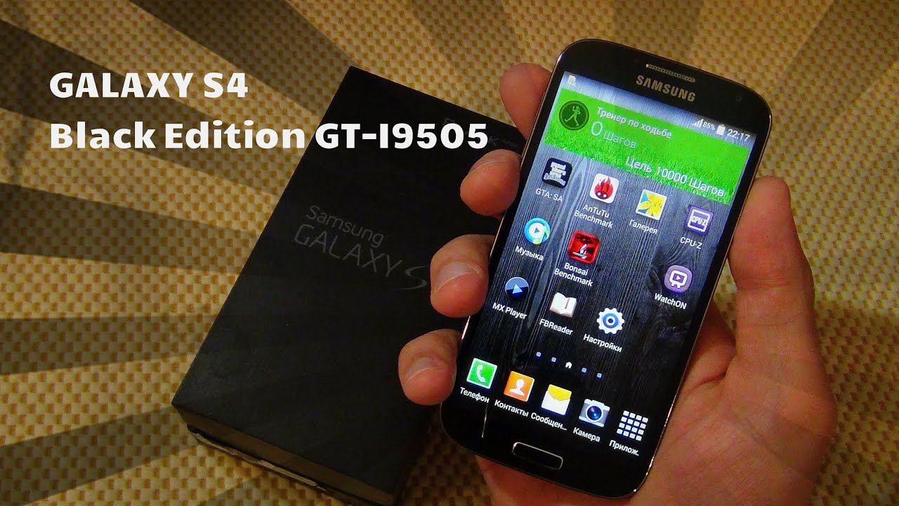 Sidex.ru: Обзор Samsung Galaxy S4 i9505 LTE - YouTube
