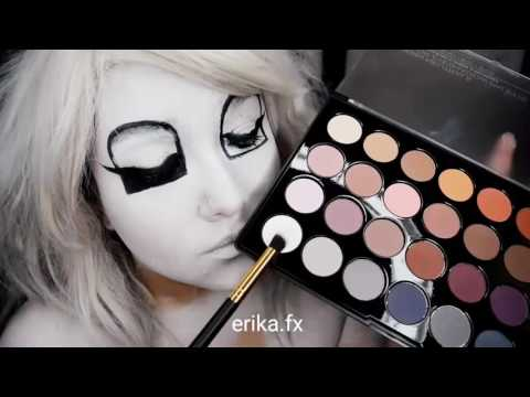 FNAF HALLOWEEN MAKEUP MANGLE FROM FIVE NIGHTS AT FREDDYS