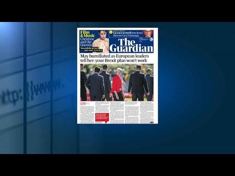 الصحف البريطانية: قادة أوروبا -يُذلون- تيريزا ماي برفض خطتها حول-بريكست-…  - نشر قبل 46 دقيقة