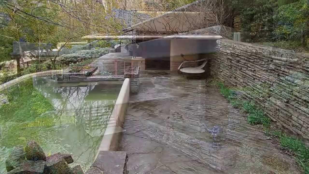 La casa sulla cascata youtube for Wright la casa sulla cascata
