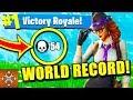 FORTNITE NEW WORLD RECORD 54 KILLS (Fortnite Battle Royale EPIC FAILS & WINS) #2