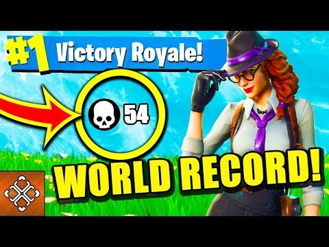 54 KILLS SOLO NEW WORLD RECORD! (Fortnite EPIC FAILS & WINS) #2 thumbnail