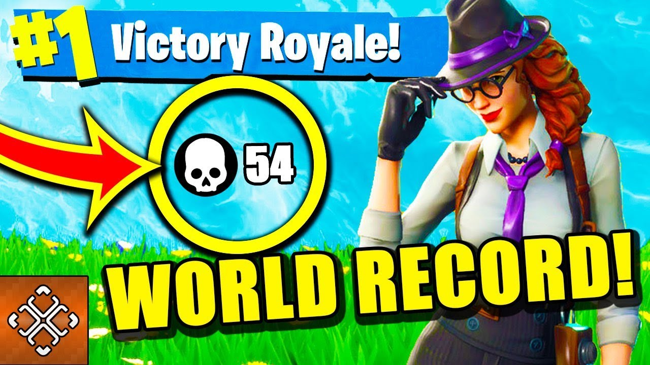 Funniest Fortnite Fails And Epic Wins New World Record 54 Kills